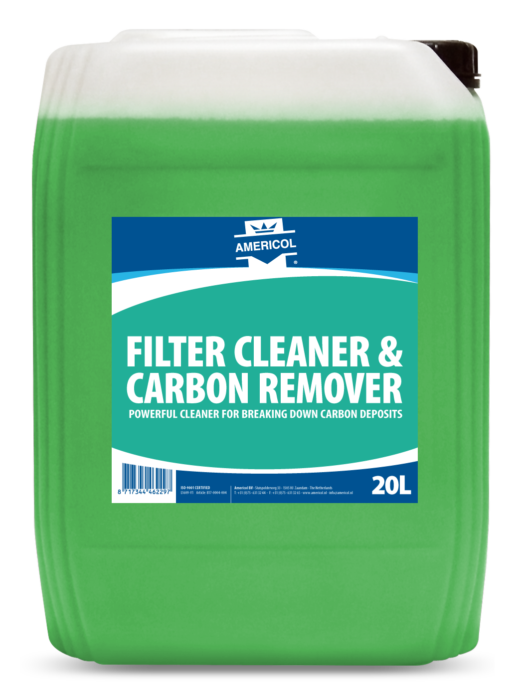 Filter Cleaner Carbon Remover 20L