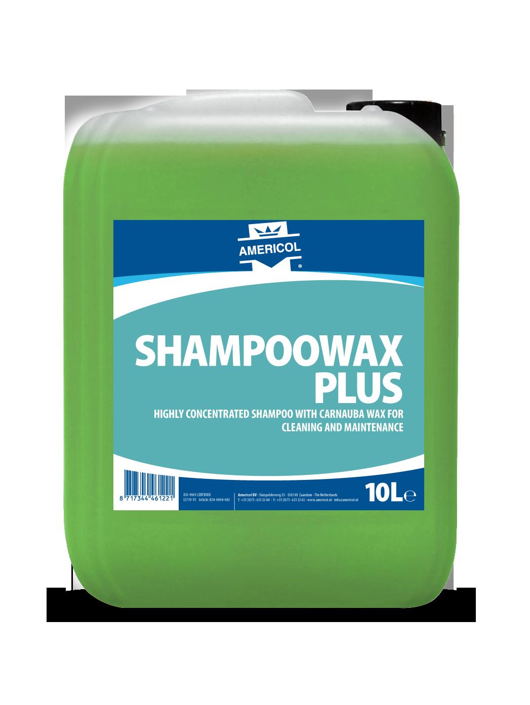 Shampoowax Plus 10L