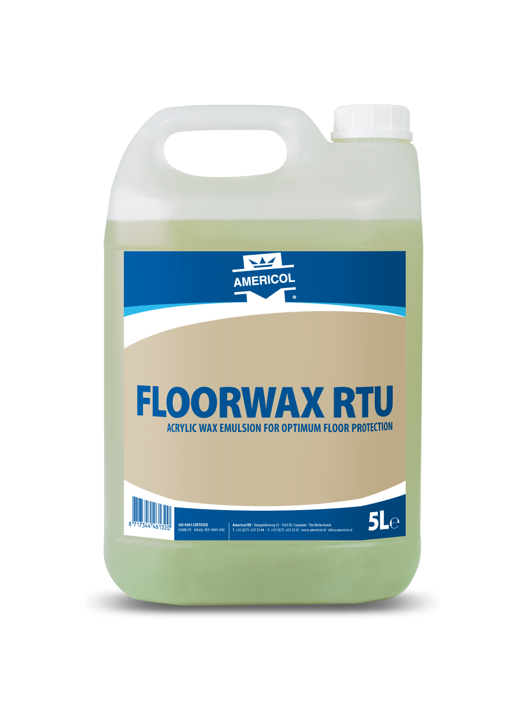 Floor Wax RTU 5L