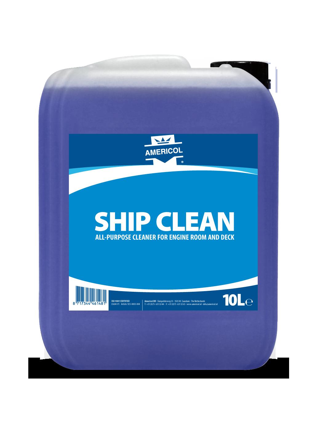 Ship Clean 10L